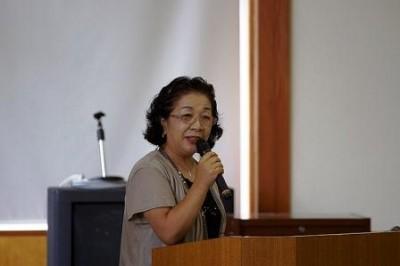 尾崎智恵美監事 司会