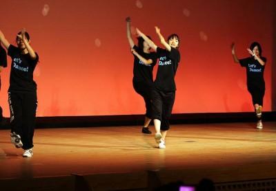 能勢高校ダンス部の発表