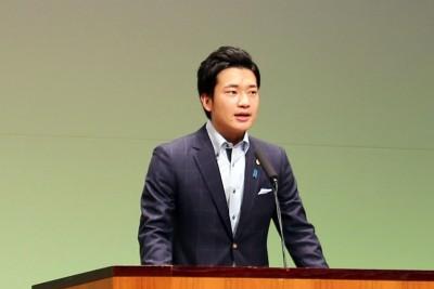 原田亮 府会議員祝辞