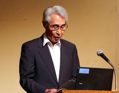 前田篤宏会計部長 会務報告